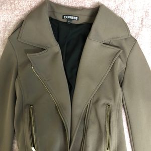 Olive Green Jacket Size Small